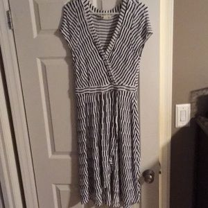Maeve striped dress from Anthropologie sz Small
